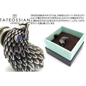 TATEOSSIAN タテオシアン メカニカルアニマルズ イーグルピンズ(銀古美仕上げ) (スタッズ ブローチ) ブランド|cufflink