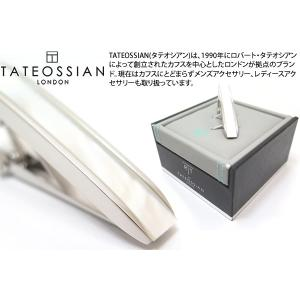TATEOSSIAN タテオシアン ムーンライトタイバー(白蝶貝&クオーツ) (タイピン タイクリップ) ブランド cufflink