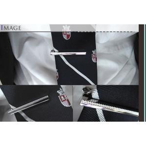 TATEOSSIAN タテオシアン タイバー  グリッド ロジウム(タイピン タイクリップ) ブランド cufflink 03