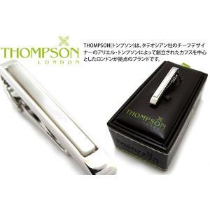THOMPSON トンプソン クラシック半貴石タイバー(MOP) (タイピン タイクリップ) ブランド|cufflink