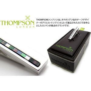 THOMPSON トンプソン チェッカータイバー(タイピン タイクリップ) ブランド|cufflink