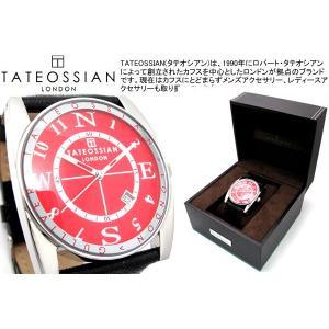TATEOSSIAN タテオシアン 腕時計 ガリバースポーツウォッチ レッド ブランド|cufflink