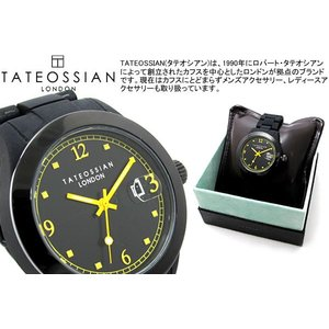TATEOSSIAN タテオシアン 腕時計 フリータイムウォッチ イエロー ブランド|cufflink