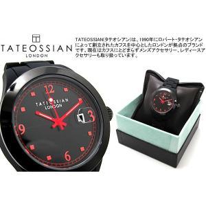TATEOSSIAN タテオシアン 腕時計 フリータイムウォッチ レッド ブランド|cufflink