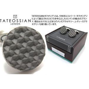 TATEOSSIAN タテオシアン チタニウムモノクロームカフス(トークンカレイドスコープ) (カフスボタン カフリンクス) ブランド|cufflink