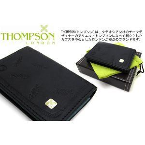 THOMPSON トンプソン フィッシュボーンビジネスカードホルダー (名刺入れ 名刺ケース) ブランド|cufflink