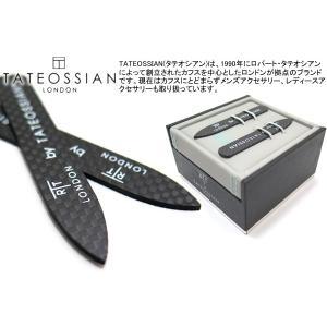 TATEOSSIAN タテオシアン クラシックカーボンファイバーカラーキーパー ブランド|cufflink