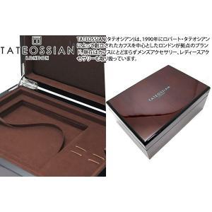 TATEOSSIAN タテオシアン 財布・カフス用ジュエリーボックス|cufflink
