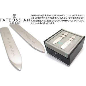 TATEOSSIAN クラシックカラーキーパー(ロジウム) ブランド|cufflink