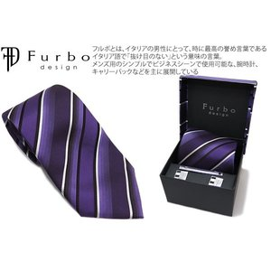 Furbo design フルボデザイン 4アイテムセット(グラデーションブルー) (ネクタイ チーフ カフス タイバー)|cufflink