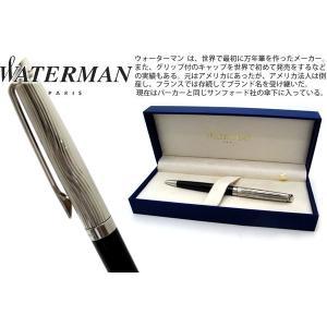 WATERMAN ウォーターマン メトロポリタンデラックス ブラック CT ボールペン 【ブランド】|cufflink