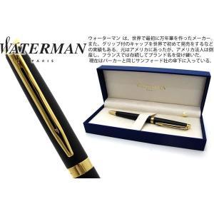 WATERMAN ウォーターマン メトロポリタンエッセンシャル マットブラック GT ボールペン 【ブランド】|cufflink