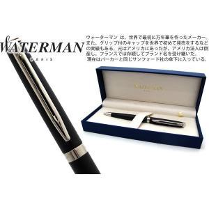 WATERMAN ウォーターマン メトロポリタンエッセンシャル マットブラック CT ボールペン 【ブランド】|cufflink