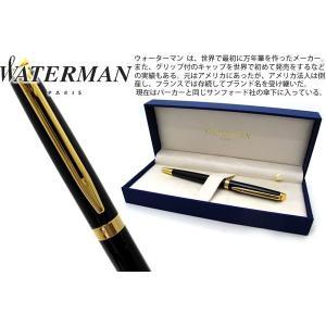 WATERMAN ウォーターマン メトロポリタンエッセンシャル ブラック GT ボールペン 【ブランド】|cufflink