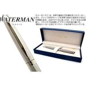 WATERMAN ウォーターマン メトロポリタンエッセンシャル ステンレススティール CT ボールペン 【ブランド】|cufflink