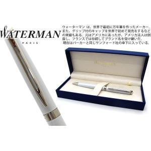 WATERMAN ウォーターマン メトロポリタンエッセンシャル ホワイト CT ボールペン 【ブランド】|cufflink
