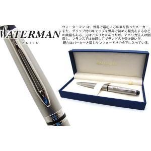 WATERMAN ウォーターマン エキスパートエッセンシャルメタリック CT ボールペン 【ブランド】|cufflink