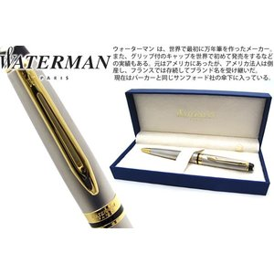 WATERMAN ウォーターマン エキスパートエッセンシャルメタリック GT ボールペン 【ブランド】|cufflink