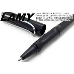 LAMY ラミー サファリ ローラーボールペン(ブラック) ブランド|cufflink