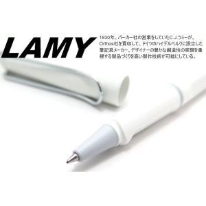 LAMY ラミー サファリ ローラーボールペン(ホワイト) ブランド|cufflink