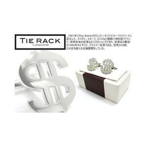TIE RACK タイラックカフス DOLLAR ドルカフス【カフス カフスボタン カフリンクス】|cufflink