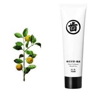 YUAN SOAP ユアンソープ  みかん歯みがきペースト デンタルケア 75g (阿原 歯磨き粉 歯みがき粉 ハミガキ粉)|cufflink