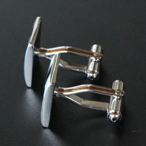 カフス カフスボタン シルバーツートン|cuffs-kobo|03