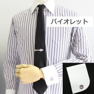 カフス カフスボタン カフリンクス スワロフスキー ブリリアントカット 全10色|cuffsmania|10