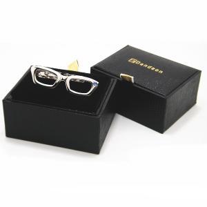 メール便送料無料 メガネ タイピン ストーンもキラリ眼鏡のネクタイピン|cuffsmania|06