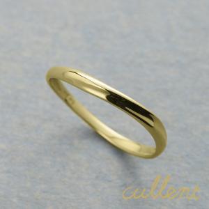 18金 ゴールド ペアリング マリッジリング 結婚指輪 K18リング YASURAGI M's