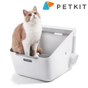 猫用トイレ 猫 トイレ 猫用トイレ用品 ペットキット ピュラキャット 自動消臭器 ピュラエア付き PETKIT PURA CAT|cunabebe
