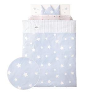 ベビー布団セット トゥインクルスター12点セット 標準サイズ コンビミニ 日本製 ベビーふとん 赤ちゃん布団 添い寝 ベビーベッド|cunabebe