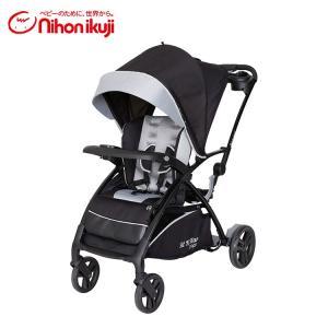 ベビーカー 二人乗り 縦型 BabyTrend シット&スタンド スマートライド ムーンダスト 日本...