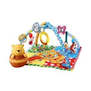 ラッピング無料!ディズニー 知育玩具 くまのプーさん てあそびいっぱいボックスにへんしんジム タカラトミー ラッピング無料|cunabebe