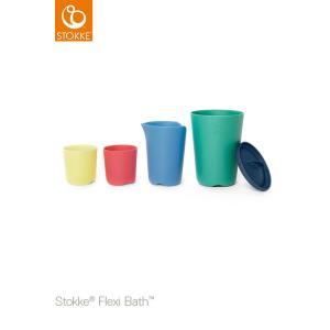 ストッケ フレキシバス トイカップ お風呂 おもちゃ 収納 水遊び ベビートイ|cunabebe