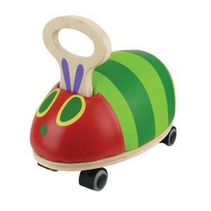 乗用玩具 足けり おもちゃ はらぺこあおむし GOGOライド 木製 室内遊具 cunabebe