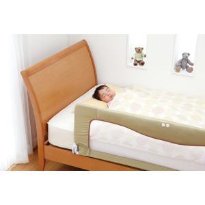 ベッドフェンスSG ベッド 転落防止 ベッドガード 布団のずれ防止 日本育児|cunabebe