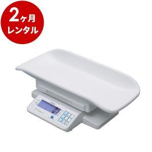 ベビースケール レンタル2ヶ月:タニタ BD-715 デジタル体重計 5g|cunabebe