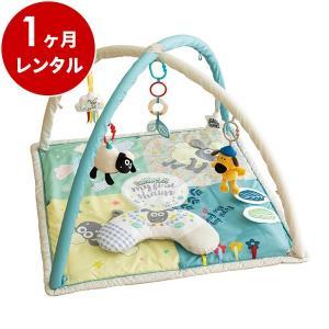 プレイマット レンタル1ヶ月:ひつじのショーン アクティビティプレイジム 日本育児|cunabebe