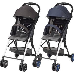 ベビーカー 新生児 折りたたみ 軽量 自立 持ち運び コンビ F2 Limited AF(エフツーリミテッド エーエフ)|cunabebe