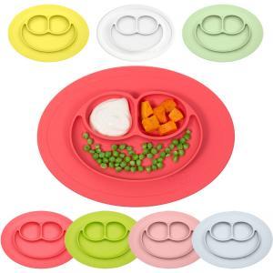 ezpz(イージーピージー)ミニマット ベビー食器 プレート ボウル シリコンプレート ランチプレート シリコン マット 離乳食 出産祝い|cunabebe