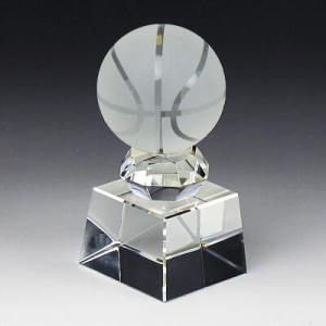 トロフィー SB−1 バスケットボール クリスタルボール