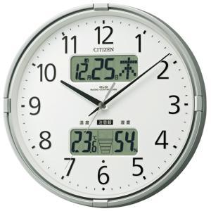 CITIZEN シチズン 掛時計 電波時計 インフォームナビF 4FY618-019|cuore