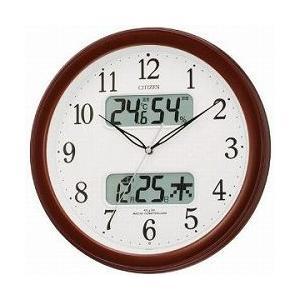 CITIZEN シチズン 掛時計 電波時計 ネムリーナカレンダーM01 4FYA01-006|cuore