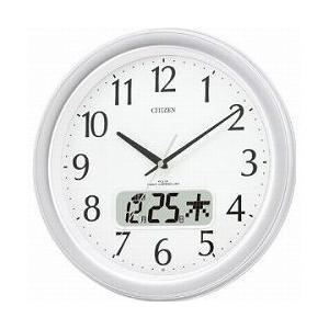CITIZEN シチズン 掛時計 電波時計 ネムリーナカレンダーM02 4FYA02-019|cuore
