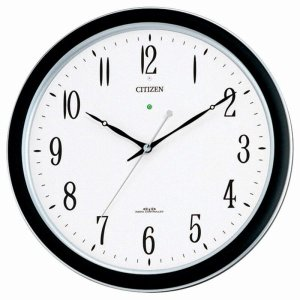 CITIZEN シチズン 掛時計 電波時計 強化防滴・防塵タイプ ネムリーナM691F 4MY691-N19|cuore
