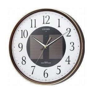 CITIZEN シチズン 掛時計 ソーラー電波時計 エコライフM807 4MY807-023|cuore