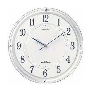 CITIZEN シチズン 掛時計 ソーラー電波時計 サイレントソーラーM817 4MY817-003|cuore
