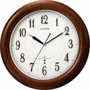 CITIZEN シチズン 掛時計 スリーウェイブ 電波時計 スリーウェイブM824F 4MY824-N06|cuore