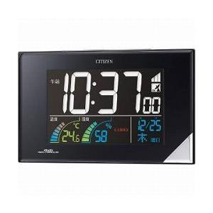 CITIZEN シチズン デジタル時計 電波時計 掛・置兼用 AC電源式 目覚まし時計 パルデジットネオン119 8RZ119-002|cuore